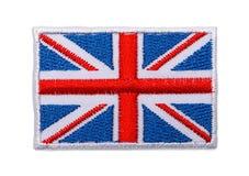 Αγγλικό μπάλωμα σημαιών Στοκ εικόνα με δικαίωμα ελεύθερης χρήσης