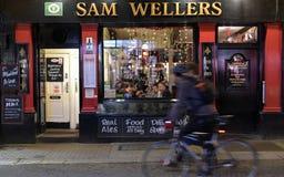 αγγλικό μπαρ παραδοσιακ στοκ εικόνες