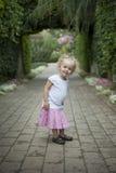 αγγλικό μυστικό μονοπατιών κήπων πορτών Στοκ Φωτογραφίες