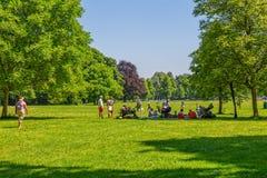 Αγγλικό πάρκο κήπων του Μόναχου Στοκ φωτογραφία με δικαίωμα ελεύθερης χρήσης