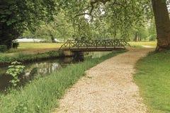 Αγγλικό πάρκο σε Chantilly στοκ φωτογραφία