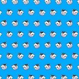 Αγελάδα - σχέδιο 01 emoji απεικόνιση αποθεμάτων