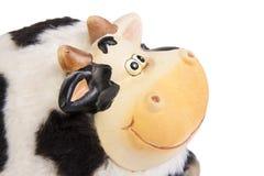 αγελάδα moneybox Στοκ Εικόνα