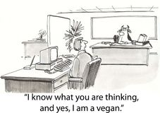 αγελάδα vegan Στοκ φωτογραφίες με δικαίωμα ελεύθερης χρήσης