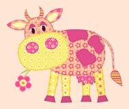 αγελάδα εφαρμογής Στοκ Εικόνες
