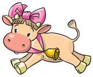 Αγελάδα μωρών Στοκ Εικόνα