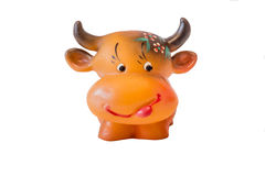Αγελάδα Των παιδιών παιχνιδιών Στοκ Φωτογραφία