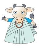 Αγελάδα 2 απεικόνιση αποθεμάτων