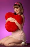αγκάλιασμα καρδιών Στοκ εικόνες με δικαίωμα ελεύθερης χρήσης