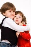 αγκάλιασμα στοκ φωτογραφία