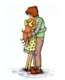 Αγκάλιασμα Στοκ Εικόνα