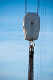 αγκίστρι γερανών Στοκ Φωτογραφίες