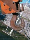 αγκίστρι γερανών Στοκ εικόνα με δικαίωμα ελεύθερης χρήσης