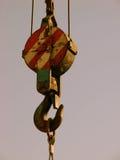 αγκίστρι γερανών στοκ εικόνες με δικαίωμα ελεύθερης χρήσης