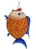 αγκίστρι ψαριών Στοκ Εικόνες