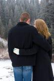 αγκαλιάστε ευτυχή Στοκ φωτογραφία με δικαίωμα ελεύθερης χρήσης