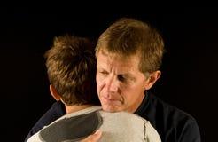 αγκαλιάστε λυπημένο στοκ φωτογραφία με δικαίωμα ελεύθερης χρήσης