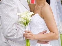 αγκαλιάστε το γάμο Στοκ Φωτογραφία