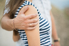 αγκαλιάστε Στοκ φωτογραφία με δικαίωμα ελεύθερης χρήσης