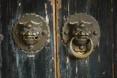 Αγκράφα πορτών Στοκ Φωτογραφίες