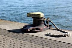 Αγκυροβόλιο - μια θέση στην ακτή για την πρόσδεση Στοκ εικόνες με δικαίωμα ελεύθερης χρήσης