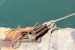Αγκυροβόλιο - μια θέση στην ακτή για την πρόσδεση Στοκ φωτογραφία με δικαίωμα ελεύθερης χρήσης