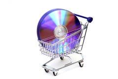 αγοράζοντας λογισμικό Στοκ φωτογραφία με δικαίωμα ελεύθερης χρήσης