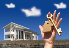 αγοράζοντας σπίτι έννοιας Στοκ φωτογραφία με δικαίωμα ελεύθερης χρήσης