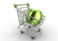 αγοράζοντας το αυτοκίν&eta Στοκ εικόνα με δικαίωμα ελεύθερης χρήσης