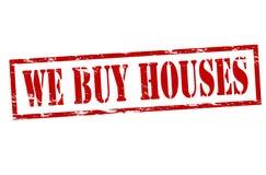 Αγοράζουμε τα σπίτια απεικόνιση αποθεμάτων