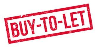 Αγοράζω--αφημένη σφραγίδα Στοκ εικόνες με δικαίωμα ελεύθερης χρήσης