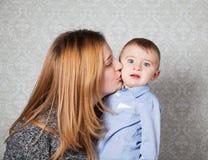 Αγοράκι και μαμά Στοκ Εικόνα