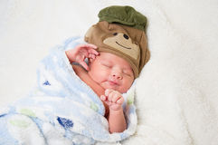 Αγοράκι, νεογέννητο Στοκ εικόνα με δικαίωμα ελεύθερης χρήσης