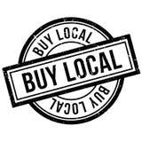 Αγοράστε την τοπική σφραγίδα Στοκ φωτογραφία με δικαίωμα ελεύθερης χρήσης