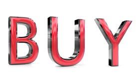Αγοράστε την τρισδιάστατη λέξη διανυσματική απεικόνιση