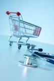 αγοράστε την υγεία Στοκ Φωτογραφίες