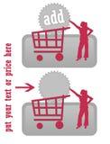 αγοράστε το γκρίζο εικ&omicr Στοκ Εικόνα