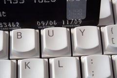 αγοράστε το πληκτρολόγιο σε απευθείας σύνδεση Στοκ Εικόνα