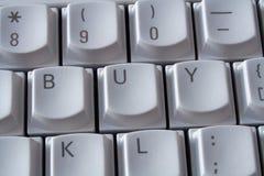 αγοράστε το πληκτρολόγιο Στοκ φωτογραφίες με δικαίωμα ελεύθερης χρήσης