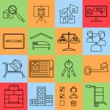 Αγοράστε το σύνολο εγχώριων εικονιδίων Στοκ Εικόνες