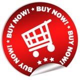 αγοράστε τώρα την αυτοκό&lambda Στοκ Φωτογραφία