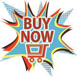 Αγοράστε τώρα το σημάδι Στοκ φωτογραφία με δικαίωμα ελεύθερης χρήσης