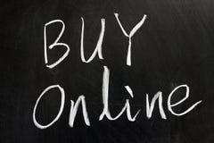 αγοράστε on-line Στοκ Φωτογραφίες