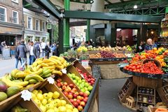 Αγορά δήμων του Λονδίνου Στοκ Εικόνες
