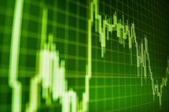 Αγορά ή γραφική παράσταση εμπορικών συναλλαγών Forex και διάγραμμα κηροπηγίων κατάλληλο για την οικονομική έννοια επένδυσης στοκ εικόνες