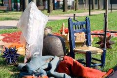 αγορά αγαθών υπαίθρια Στοκ Φωτογραφία
