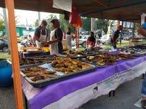 Αγορά αγροτών σε Paroi Jaya, Seremban, Negeri Sembilan στη Μαλαισία Στοκ φωτογραφίες με δικαίωμα ελεύθερης χρήσης