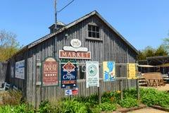 Αγορά αγροτών, Annapolis βασιλικό, NS, Καναδάς Στοκ εικόνα με δικαίωμα ελεύθερης χρήσης