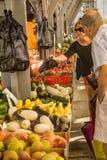 Αγορά αγροτών Roanoke Στοκ Εικόνες