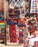 Αγορά αναμνηστικών Machu Picchu Pueblo Aguascaliente Στοκ φωτογραφίες με δικαίωμα ελεύθερης χρήσης